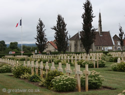 Cerny-en-Laonnois French Cemetery