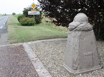 The Demarcation Stone at the eastern 
