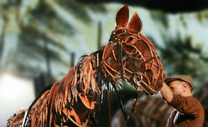 War Horse play by the National Theatre.