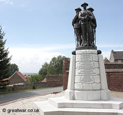 British 37th Division Memorial, Monchy-le-Preux, east of Arras