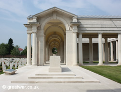 Arras Memorial to the Missing.