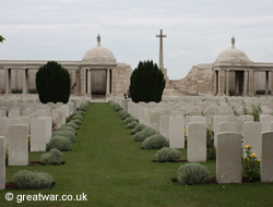 Loos Memorial at Dud Corner Cemetery.