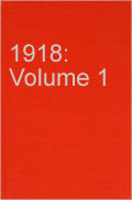 Book Military Operations: 1918 Vol 1