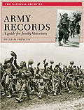 Cover of Army Records: Guide for Family Historians by William Spencer