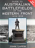 Cover for Guide to the Australian Battlefields of the Western Front 1916-1918.
