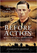 Cover of Before Action book about Noel Hodgson