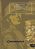 Cover of British Regiments 1914-18 by E A James