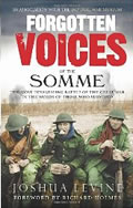 Cover of Forgotten Voices of the Somme by Joshua Levine