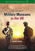 Cover of Military Museums in the UK by Colin Sibun