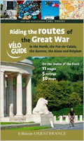 Cover of Riding the Routes of the Great War