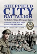 Book, Sheffield City Battalion (Sheffield Pals)