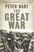 Book cover The Great War by Peter Hart