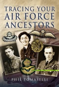 Cover of Tracing Air Force Ancestors book by Phil Tomaselli