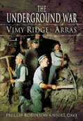 Cover of Underground War Vimy Ridge to Arras