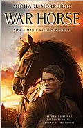 Cover of War Horse book by Michael Morpurgo (film tie-in publication)