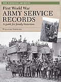 Cover of First World War Army Service Records by William Spencer