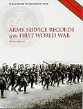 Cover of Army Service Records (PRO Readers Guide) by William Spencer