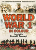 DVD cover World War 1 in Colour