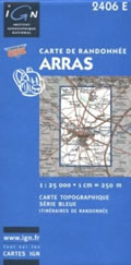 Blue Series map of Arras