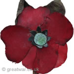 An early Haig Fund fabric poppy.
