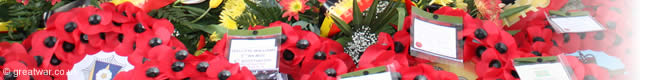 Wreaths at the Menin Gate Memorial