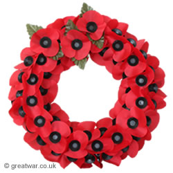 Royal British Legion Remembrance Poppy Wreath