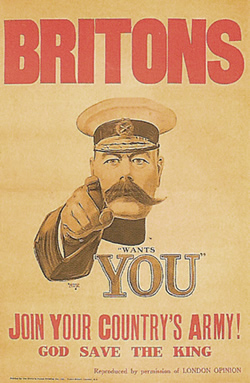 Alfred Leete's Lord Kitchener Wants You Poster