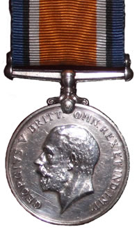 The Front of the British War Medal, 1914-18 (Squeak)