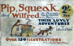 Book cover of Pip Squeak and Wilfred