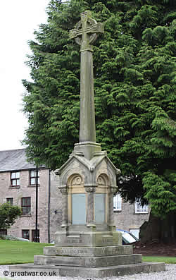 Kirkby Lonsdale war memorial