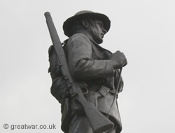 Rifle Brigade war memorial, London