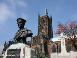 Two WW1 memorials in Wolverhampton