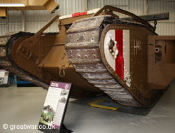 Mark V Heavy Tank, Bovington Tank Museum
