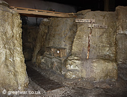 Trench at Tank Museum Bovington