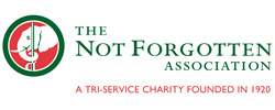 logo for the Not Forgotten Association