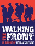 Walking the Front logo - fundraising for Veteran's Retreat