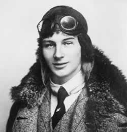 Aviator Anthony Fokker in 1912.