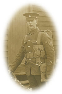 Corporal Thomas Parker, 2nd Royal Welsh Fusiliers, killed in action on the Somme battlefield 6 November 1916.