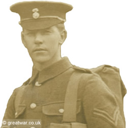 Corporal T H Parker, 2nd Battalion Royal Welsh Fusiliers.