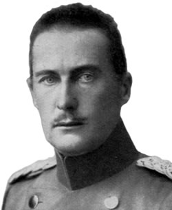 Duke Albrecht von Wurttemberg, commander of the German 4th Army in March 1915.