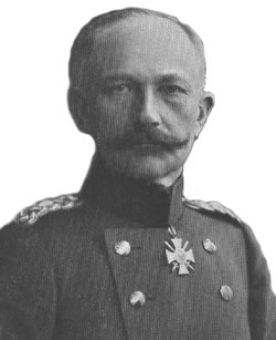 General Deimling, Commander of the German XV Corps south-east of Ypres in March 1915.