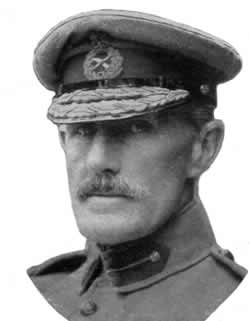 General Sir Horace Smith-Dorrien, Commander of the Second British Army in the Ypres Salient in April 1915.