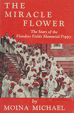Front cover of the Miracle Flower by Moina Michael.