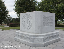 Canadian Memorial at Crest Farm, Passchendaele.