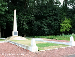 18th (Eastern) Division Memorial, Trones Wood.