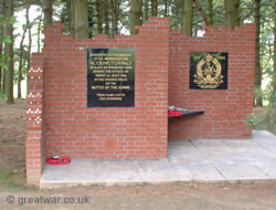 Memorial to the Accrington Pals at Sheffield Memorial Park, Serre