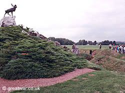 The Caribou Memorial at Newfoundland Memorial Park