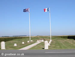 Australian Memorial, Pozieres windmill.