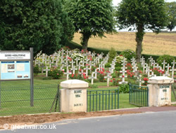Serre-Hebuterne French Cemetery