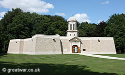 Memorial and Museum to the South African Brigade at Delville Wood on the Somme battlefield.